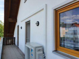 Installation einer DAIKIN-Perfera-Anlage im privaten Wohnbereich (Juli 2020)